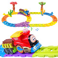Car Toy Model Thomas Train Children 3D Toy Colorful Building Blocks Electric Train