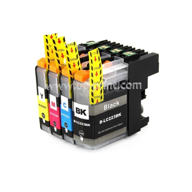 8pk LC223 чернильный картридж Brother DCP-J562DW/MFC-J480DW/MFC-J680DW/MFC-J880DW принтер lc225 lc227 с чипом