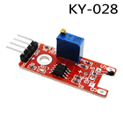 4pin . KY-028 Digital Temperature Thermistor Thermal Sensor Module Switch DIY Starter Kit