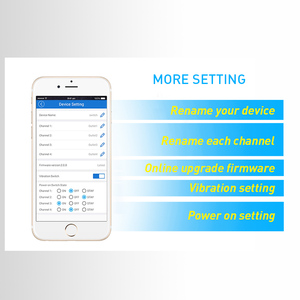 Image 4 - Itead Sonoff 4CH R2 4 kanal 4 Gang 10A uzaktan ışık anahtarı Wifi kablosuz kontrol 4 cihazlar Alexa akıllı Google ev otomasyonu