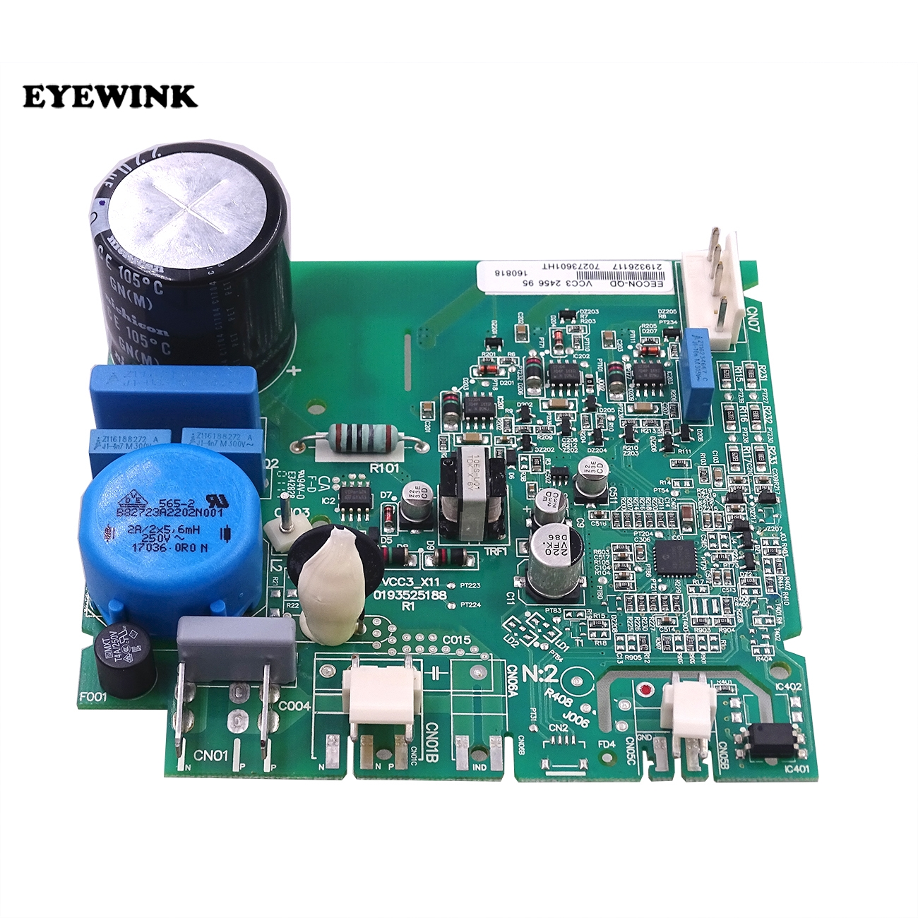 Electronics Production Machinery New For Haier Refrigerator Freezer Inverter Board Eecon-qd Vcc3 Control Board Pc Board Professional Replacement Part Gift Cheap Sales