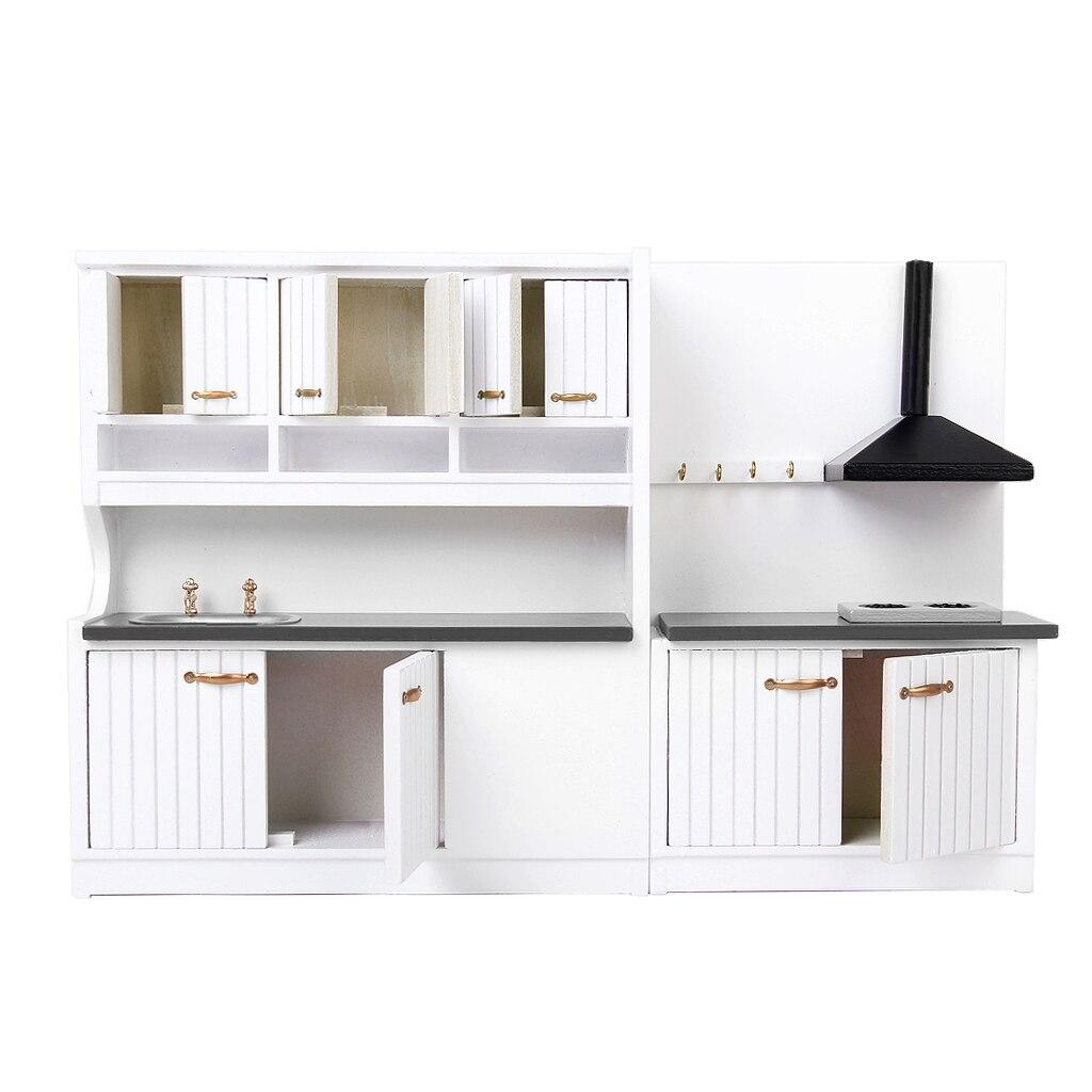 Uncategorized Dollhouse Kitchen Furniture online get cheap dollhouse kitchen furniture aliexpress com 112 scale wooden set pretend play doll house