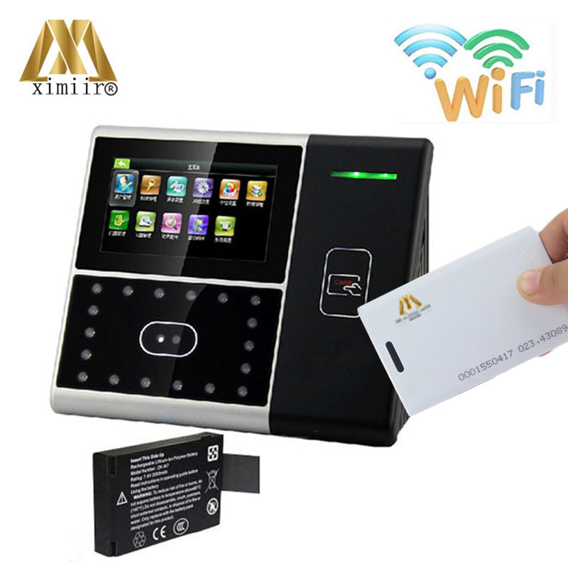 Biometric face/ID card/wifi/backup battery face attendance/access control Iface301 face time recording time attendance machine