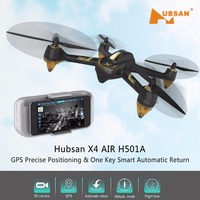 Hubsan X4 AIR H501A WIFI FPV Brushless With 1080P HD Camera GPS Waypoint RC Quadcopter RTF RC Helicopter Toys