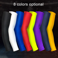 1pcs Basketball Elbow Support Protector Bicycle Cycling Sports Safety Elbow Pad Long Arm Sleeve BB55 стоимость