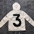 YEEZY YEEZUS Сезон 3 Куртки для Мужчин Мода Пальто Бренда Одежда двухэтажные Ветрозащитный Равномерное Топ-Версия Ветровка Homme