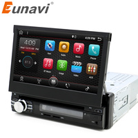 Eunavi RAM 2G Single 1 Din 7 Android 7 1 Car Dvd GPS Navigation Radio Stereo
