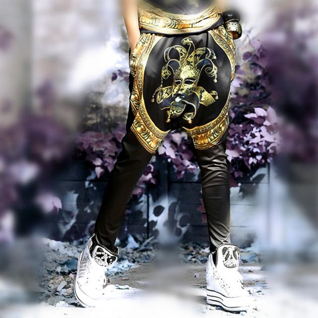 Just.be.never Hip Hop Joker Pants Cartoon Casual Punk Streetwear Dance  Harem Pants f9b7cbc40862
