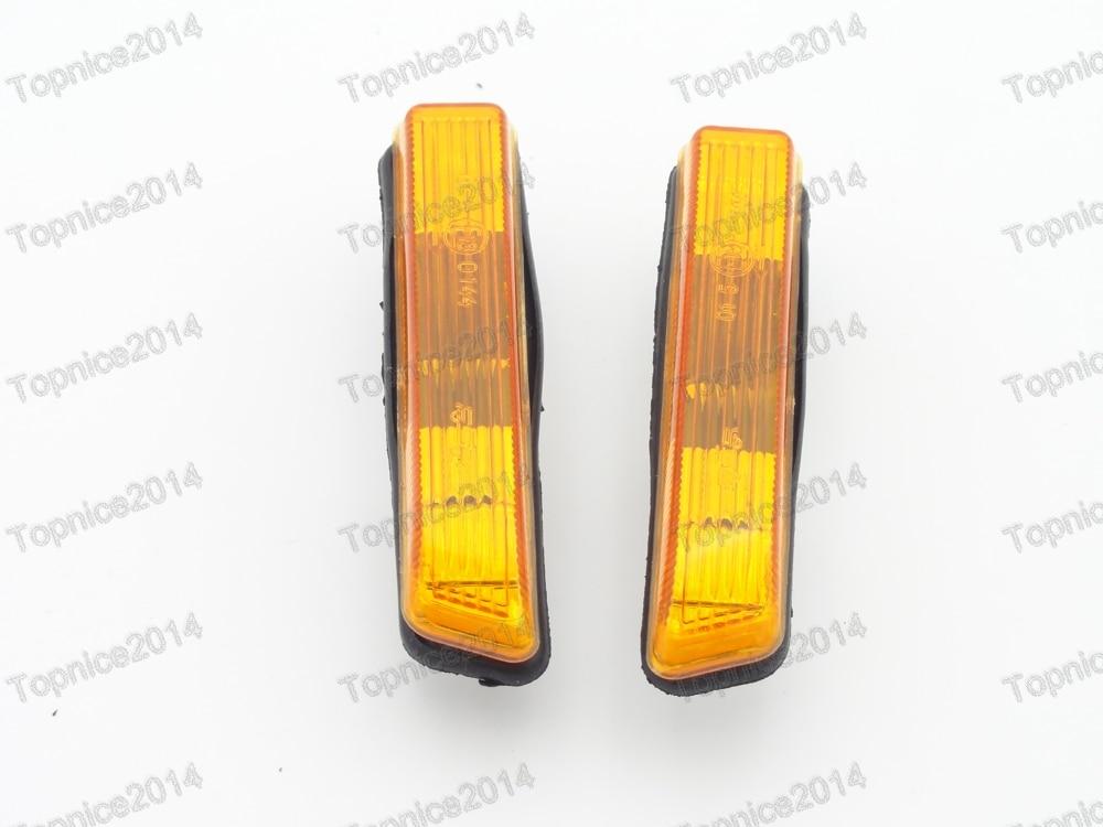 1 Paire Ambre Fender Side Marker Lampes Lumières Clignotants Lampes Pour BMW E53 X5 1999-2006