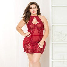 Women Sexy Lingerie Babydoll Plus Size Hot Erotic Underwear Sleepwear Costume Porno XXL