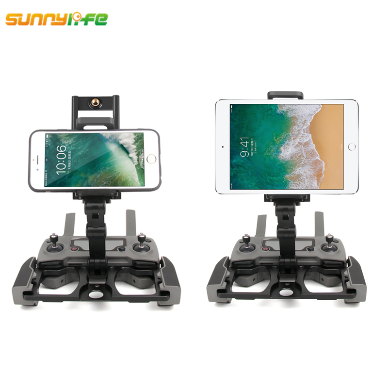 Sunnylife MAVIC 2 Pro MAVIC Air DJI SPARK Remote Control Phone CrystalSky Monitor Folding Bracket Holder MAVIC PRO Accessories цена 2017