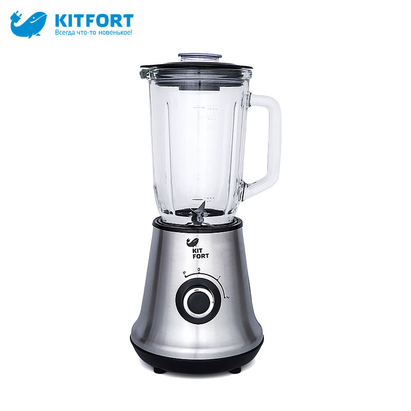 Blender Kitfort KT-1312 blender electric kitchen hand blenders mixer juice professional With chopper