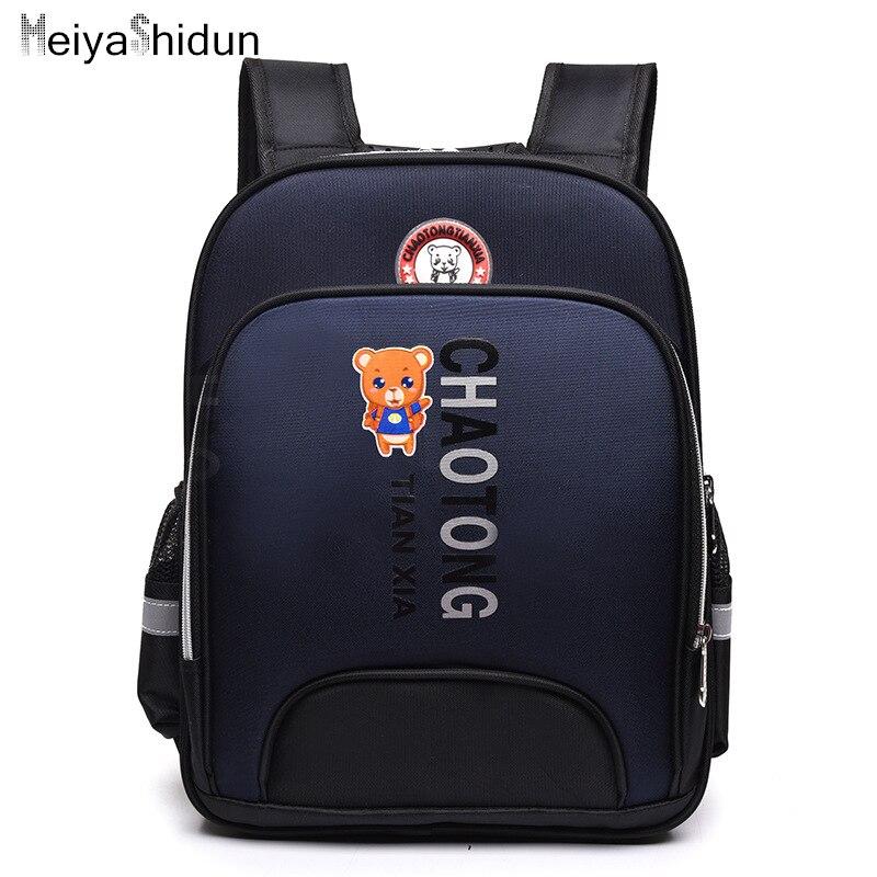 Children School Bags Boys School Backpack Orthopedic