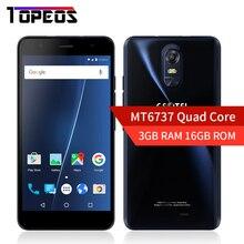 Nouveau Geotel Note 5.5 pouce 3 GB RAM 16 GB ROM Smartphone Quad Core Android 6.0 MT6737 1280×720 4G LAISSER 8MP avec Livraison Silicone cas
