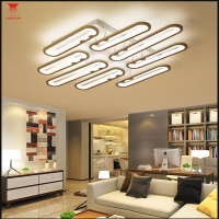 Led Chandelier Modern For Living Room Bedroom Acrylic Ring Led Ceiling Chandelier Lighting Fixture Home LED