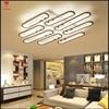 Led Chandelier Modern For Living Room Bedroom Acrylic Ring Led Ceiling Chandelier Lighting Fixture Home LED