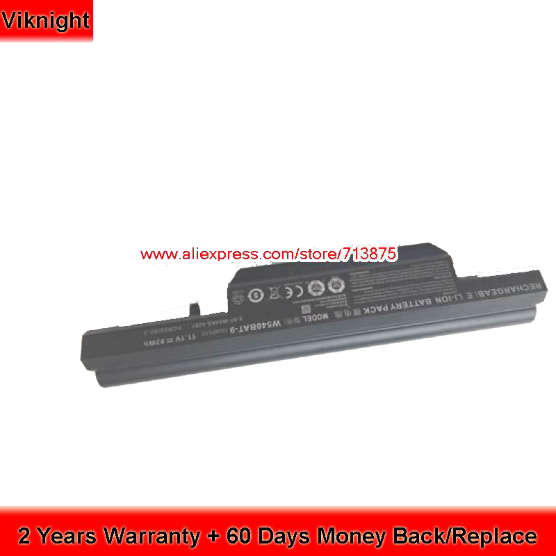 Genuine W540BAT-9 Battery For Clevo W550SU1 W550TU 6-87-W540S-427 6-87-W540S-4271 6-87-W540S-4U4 origianl clevo 6 87 n350s 4d7 6 87 n350s 4d8 n350bat 6 n350bat 9 laptop battery