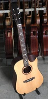 hand made performance acoustic guitar solid wood spruce wholesale