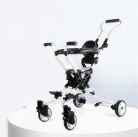 Micr trike xl dsland doux bebe dziecięcy rower trójkołowy skuter pięciokołowy chodzik dla dzieci micr trike xl w Lekki wózek od Matka i dzieci na