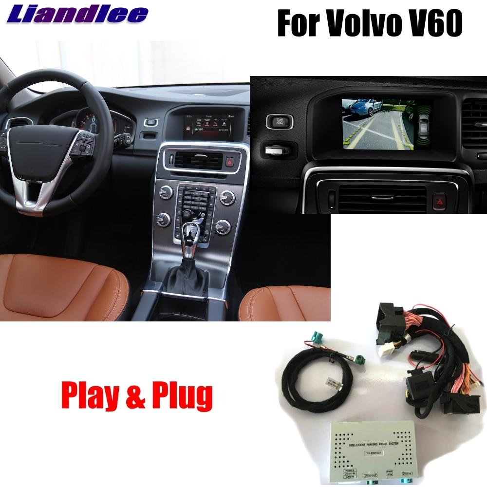 Liandlee Parking Caméra Interface Inverse Caméra de Recul Kits Pour Volvo V60 2010 ~ 2016 Affichage Mise À Niveau