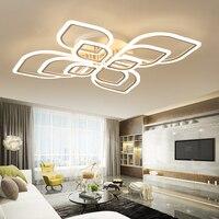 modern led chandeliers for living room bedroom dining room acrylic Indoor home ceiling chandelier lamp lighting fixtures