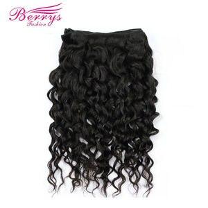 Image 3 - [Berrys Fashion]Brazilian Virgin Hair Water Wave 1PC/lot 100% Unprocessed Human Hair Bundles Natural Color Hair Weave 10 28 inch