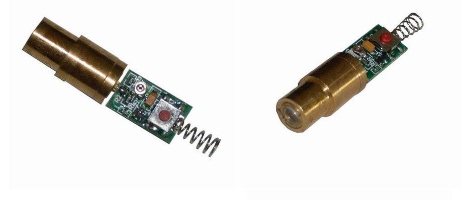 Le meilleur laser professionnel Dilde de module de laser de 100mw 532nm pour le pointeur laser