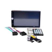 MP5 Player with Rear View Camera 7 Inch Bluetooth V2.0 TF MMC USB FM Radio IR Remote Control