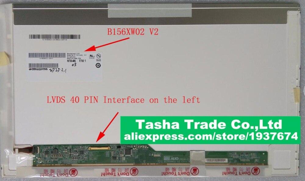 For thinkpad L520 T520 SL510 Screen LCD Display Panel 1366*768 40pins New Original original new 15 6laptop lcd screen digitizer panel touch display matrix replacement repair part 40 pins ltn156at40 d01 1366 768