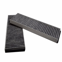 Voor AUDI A6 C6 R8 A4 B8 2004-2015 Activated carbon luchtfilter airconditioning Filters 4F0 898 438 Abc 4F0 819 439 een