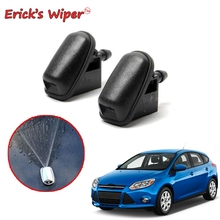 Ericks Wiper 2Pcs/lot Front Windshield Wiper Washer Jet Nozzle For Ford Focus 3 2012  2018 2017 2016 2015 OE: BM5117666AB