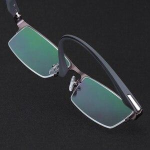 Image 4 - Business Anti Blue Ray Männer Frauen Computer Lesebrille UV Blau Licht Schutz Unisex Presbyopie Brillen für Leser dioper
