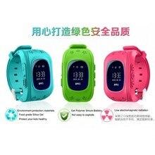 Heißer smart watch kinder kid armbanduhr q50 gsm gprs gps locator tracker anti-verlorene smartwatch kind schutz für ios android