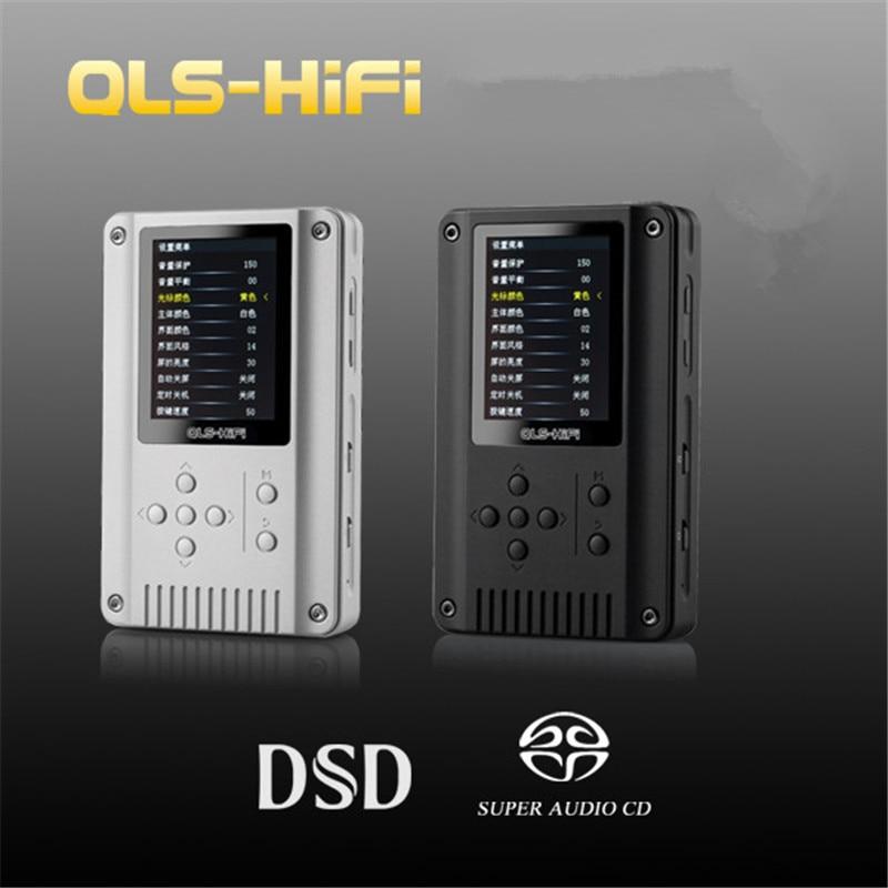 2016 Newest QLS QA360 DAP 24Bit/192kHz DSD/SACD Portable Audio Digital HiFi Lossless Music Player-Black/Sliver