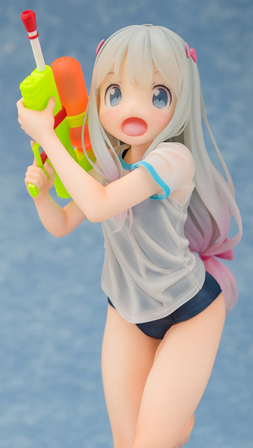 Cute Anime Eromanga Sensei Izumi Sagiri Sexy Figure 1/8 scale figure Toy Swimsuit Ver. Model no retail box (Chinese Version) 1