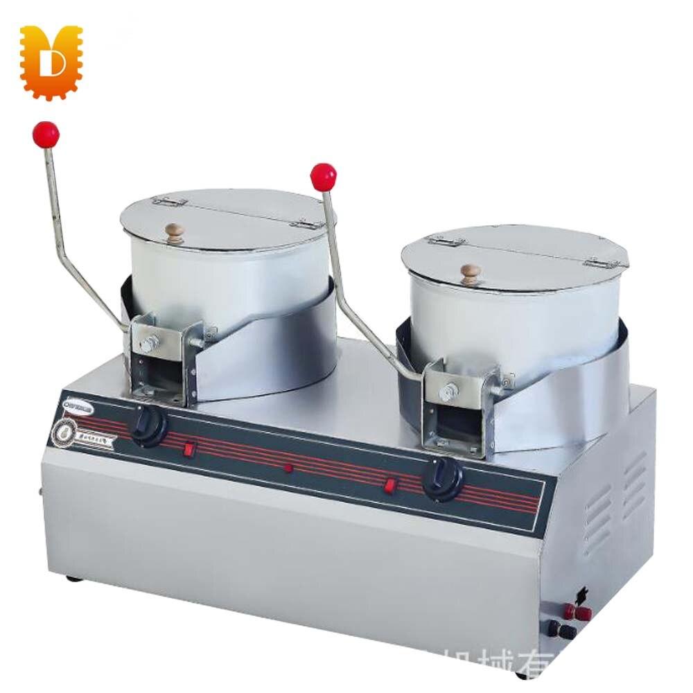 UD-017 une nouvelle génération de marqueur de pop-corn en acier inoxydable à double pot
