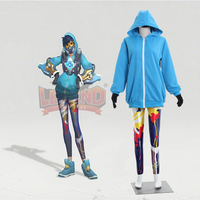 Cosplay legend pre order 2017 Anniversary skins Tracer Graffiti cosplay costume all size custom made