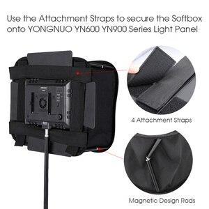 Image 3 - SB600/SB300 Studio Softbox Diffuser for YONGNUO YN600L II YN900 YN300 YN300 III Air Led Video Light Panel Foldable Soft Filter