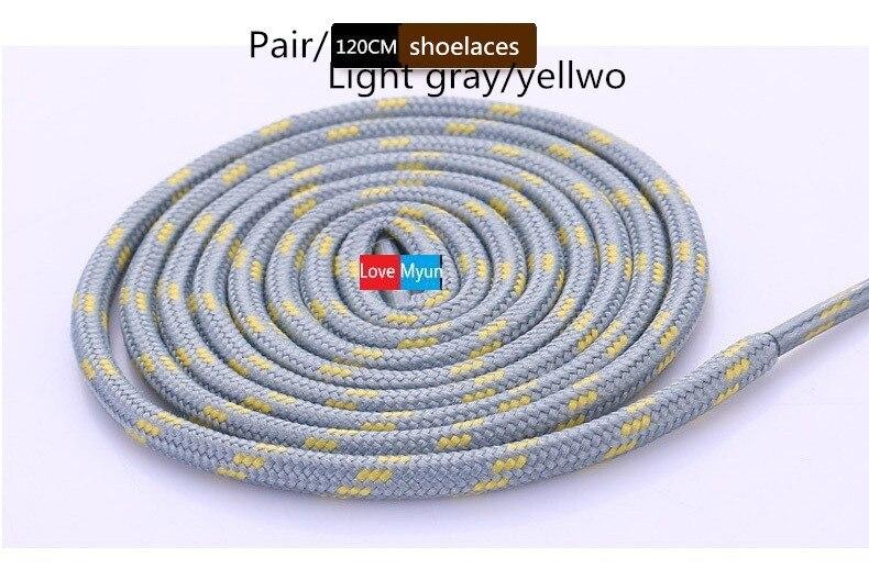 Новые уличные спортивные повседневные разноцветные Круглые шнурки для пеших прогулок шнурки кроссовки с шнурками Катание на коньках ботинки шнурки
