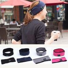 New Wireless Bluetooth Headset Headwear Strap Handsfree Mp3 Music Player Headphone Sleep Sports Headband Earphone