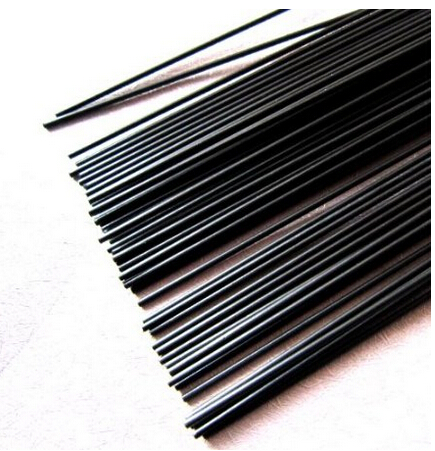 2pcs 5mm Diameter x 500mm Carbon Fiber Rods For RC Airplane Matte Pole tator rc 3k carbon fiber plate 3 5mm tl2900