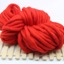 1KG Fashion Super Chunky Knitting Yarn Soft Acrylic Wool Yarn for Arm Knitting Hand Knit Blanket