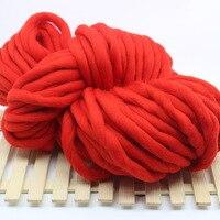 1KG Fashion Super Chunky Knitting Yarn Soft Acrylic Wool Yarn for Arm Knitting Hand Knit Blanket