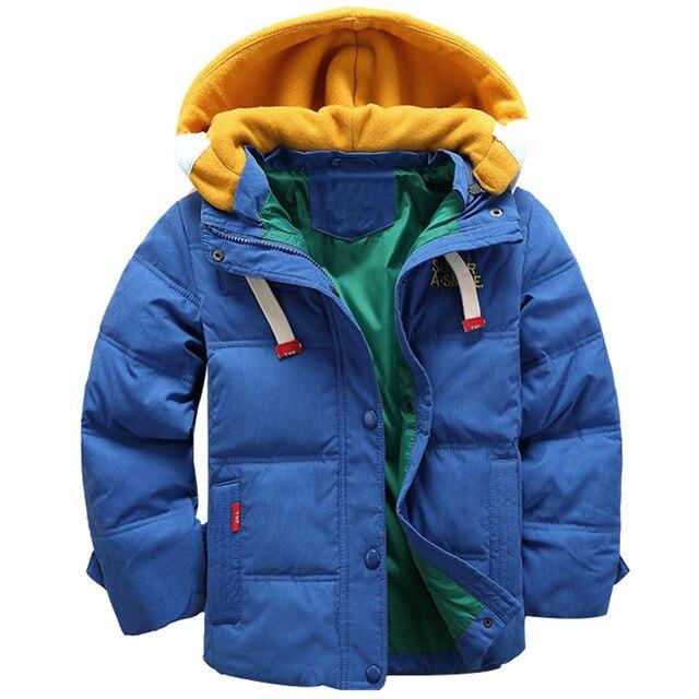 Одежда для маленьких мальчиков, зимнее пальто для мальчиков, Детская куртка с капюшоном, детская Вельветовая куртка, 3-10 лет, детская модная пуховая одежда