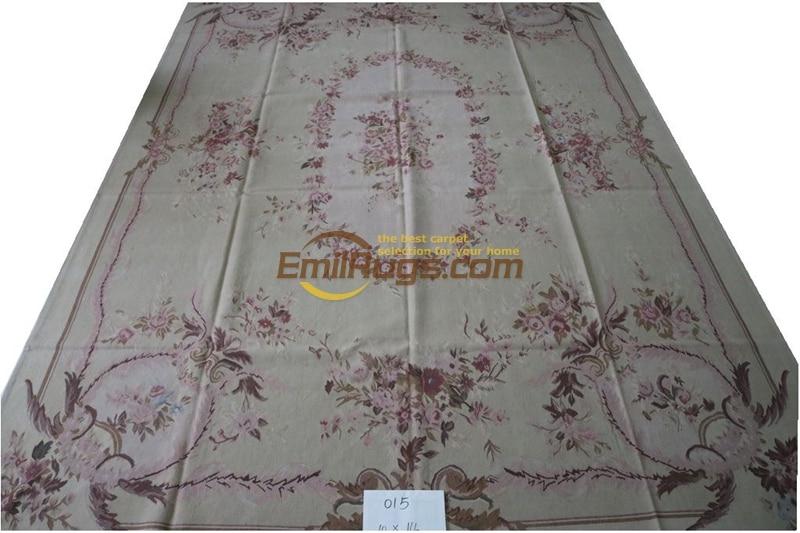 Antique Style français Aubusson tapis fait à la main tapis turc décor à la maison Rectangle tapis turc tapis