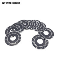 potentiometer knob 10pcs 0-100 WTH118 potentiometer knob scale digital scale can be equipped with WX112 TOPVR (4)