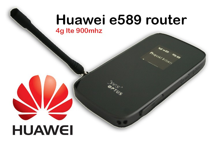 (+4g antenna)Huawei E589 4G LTE 100Mbps Mobile Broadband WIFI Hotspot