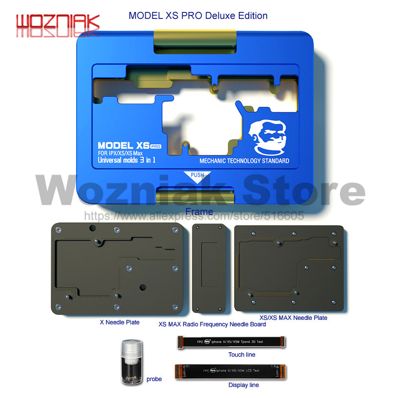 MECHANIC MODEL XS PRO ISOCKET PCB MAINBOARD FUNCTIINAL TESTING FIXTURE FOR IPHONE X XS XS MAX HIERARCHICAL MAINTENANCE TESTER|Power Tool Sets| |  - title=