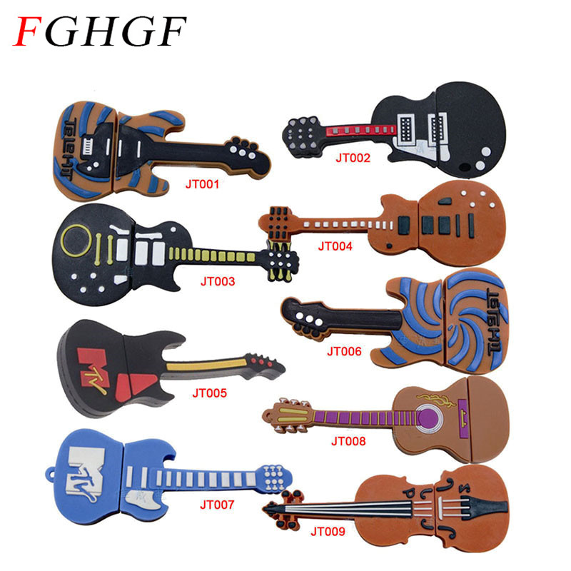fghgf plastic guitar usb flash drive musical instrument memory stick electric guitars thumb. Black Bedroom Furniture Sets. Home Design Ideas