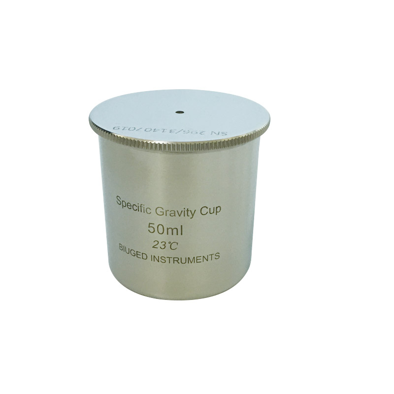50cc/ml Stainless Steel Specific Gravity Cup BGD296/3 Coating Gravity Cup